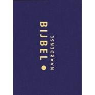 Naardense Bijbel - Zakformaat - blauw linnen