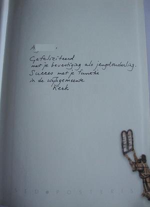 voorbeeld signeren